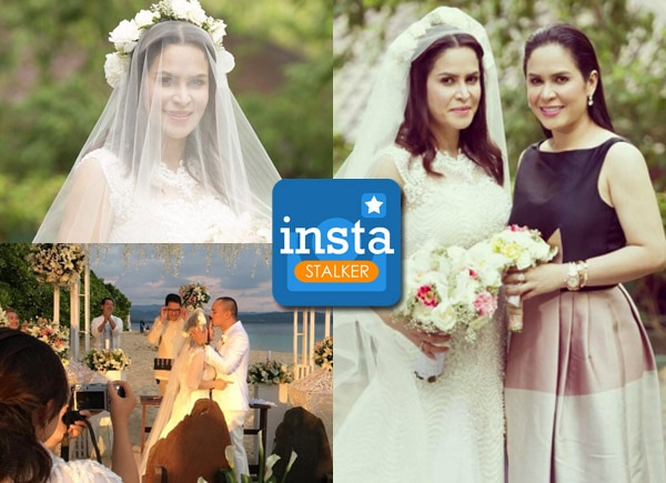 LOOK: Jinkee Pacquiao's twin Janet Jamora marries ex-PBB housemate Tibo Jumalon