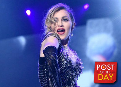 Madonna misses her son Rocco