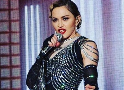 "Madonna sings ""Crazy For You"" after 30 years"