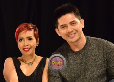 Ahron Villena to Kakai Bautista: 'I'm really happy to have you as my friend'