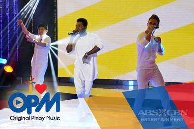 Balik-balikan ang nakakabilib na performances ng Touristars sa I Love OPM
