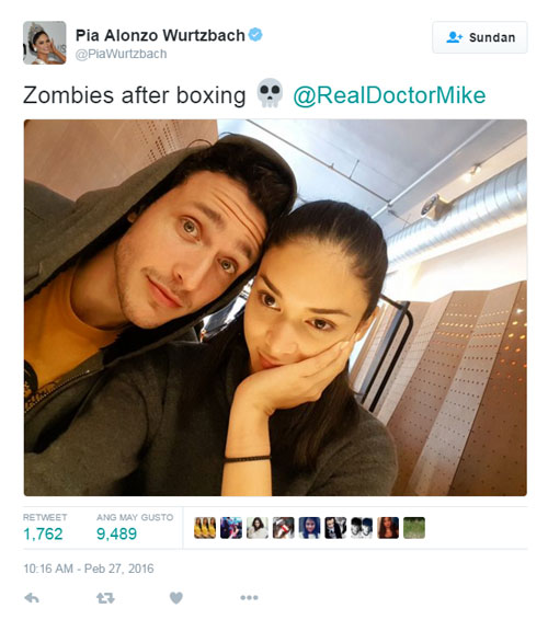 Dr. Mike admits he's dating Pia Wurtzbach