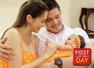 LOOK: Story telling time with Baby Zia and Mommy Marian