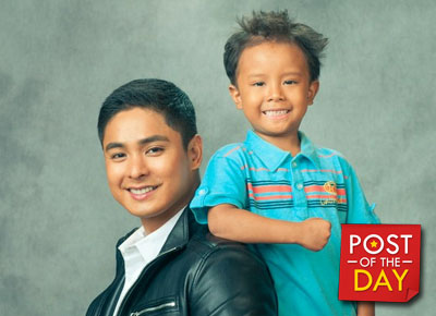 Coco Martin is proud of Onyok on his graduation day