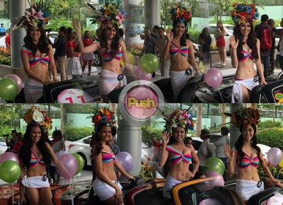 2016 Binibining Pilipinas candidates sizzle at the annual parade of beauties