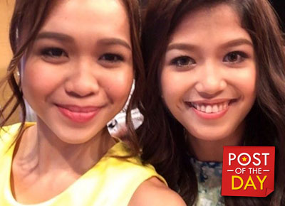 LOOK: Melai and Miho's face swap