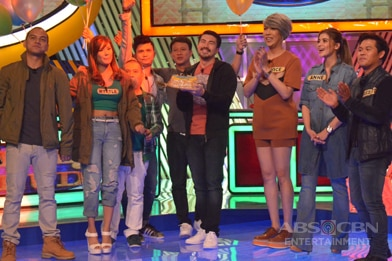 PHOTOS: Luis Friends Vs The Lucky Ones in Family Feud