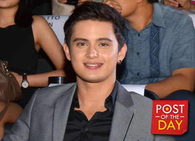 Injured James Reid does the Running Man Challenge