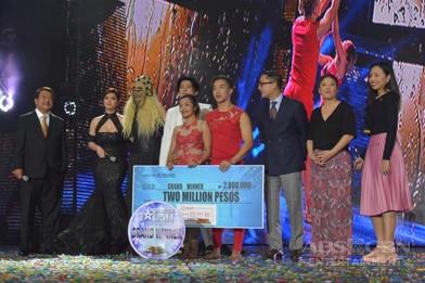 WINNING MOMENTS: Congratulations to PGT5's Grand Winner Power Duo