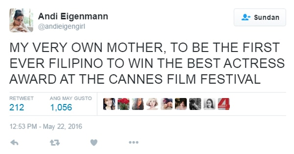 InstaStalker: Celebs congratulate Jaclyn Jose on her Cannes win