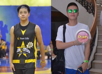Daniel Padilla and Ronnie Alonte go head-to-head in Star Magic Games 2016 basketball