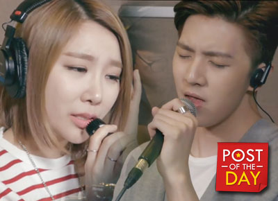 WATCH: Sandara Park's brother Thunder covers a Filipino song