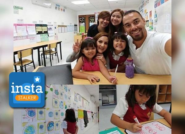 INSTASTALKER: Celeb parents and kids' school diaries