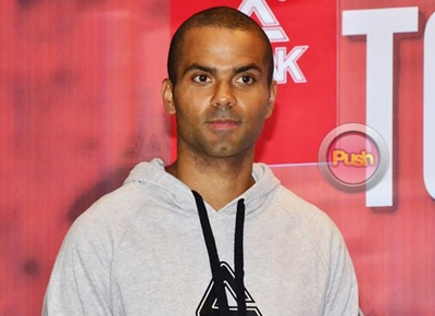 Tony Parker is excited about his first trip to Manila