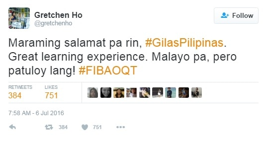 Labang May Puso: Celebrities give full support to Gilas Pilipinas