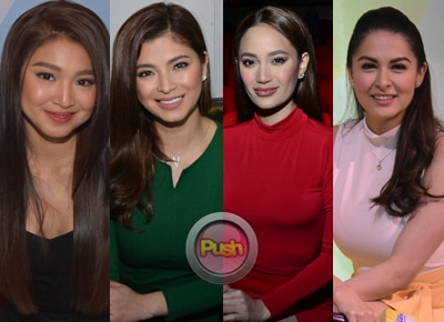 Nadine, Arci, Angel, and Marian in FHM's Top 10 Sexiest list