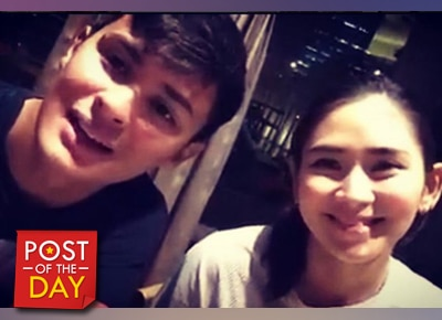 LOOK: Sarah Geronimo and Matteo Guidicelli attend spinning class together