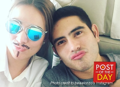 LOOK: Ex-lovers Gerald Anderson and Bea Alonzo bring kilig vibes while on tour