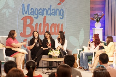 PHOTOS: Magandang Buhay with Ruffa Gutierrez and Melanie Marquez