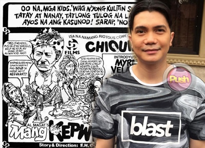 Vhong Navarro takes iconic role in 'Mang Kepweng Returns'