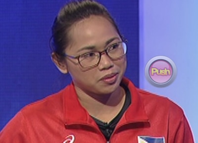 Hidilyn Diaz' advice to future weightlifters: 'Dream high'