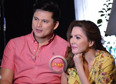 EXCLUSIVE: Zoren Legaspi and Carmina Villaroel share experience working with JaDine
