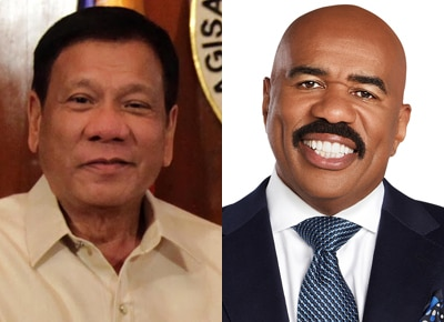 Duterte wants Steve Harvey out of Miss Universe 2017