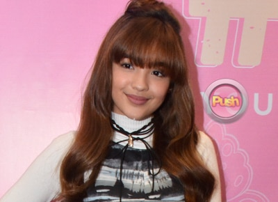 "Andrea Brillantes is happy to finally release her new book ""#GOALS"""