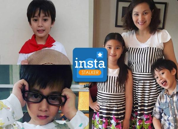 Meet Gladys Reyes's little heartthrob