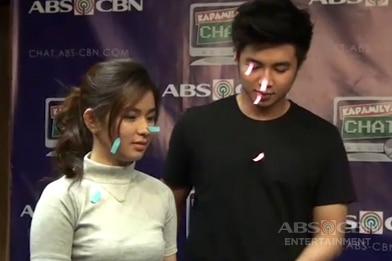 Loisa at Yves, game na game na sumabak sa Sticker Challenge