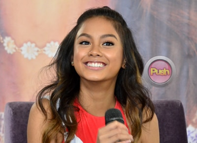 Ylona Garcia reveals what she thinks is the ideal age for her to have a boyfriend