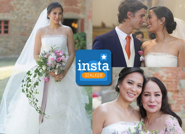 Instastalker: Isabelle Daza exchanges 'I dos' with Adrien Semblat in Italy