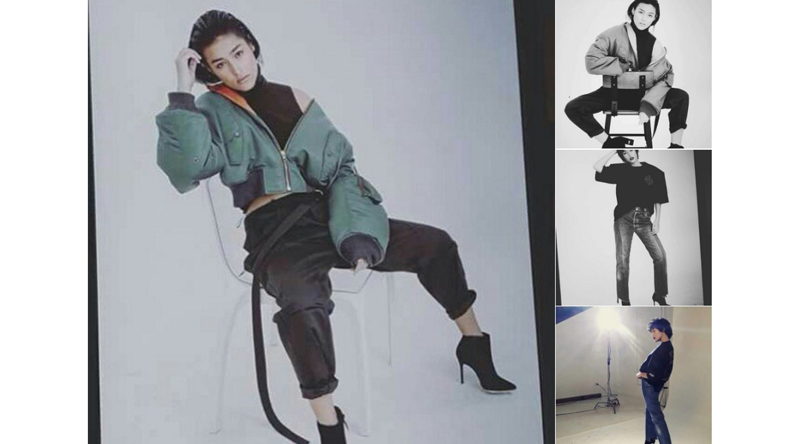 Liza Soberano goes androgynous in her latest photo shoot
