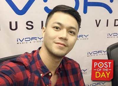 """Mr. Pastillas"" Richard Parojinog is now a recording artist"