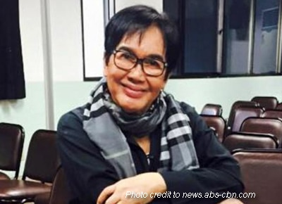 Fanny Serano's secretary gives an update about his health status
