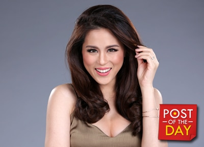 Toni Gonzaga shows off her baby bump in daring photo