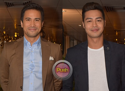 Zanjoe Marudo and Sam Milby admitted they both felt awkward playing a gay couple in 'The Third Party