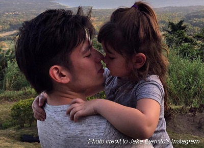 Jake Ejercito posts a message for Andi Eigenmann's daughter:  'You will always be my princess'