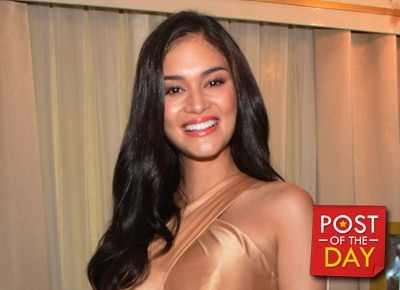 LOOK: Pia Wurtzbach promises to push for PH's hosting of Miss Universe 2017