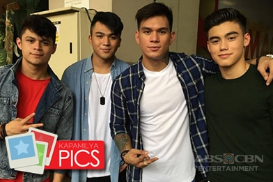 LOOK: Kapamilya stars gather for ABS-CBN Christmas Station ID 2016 shoot