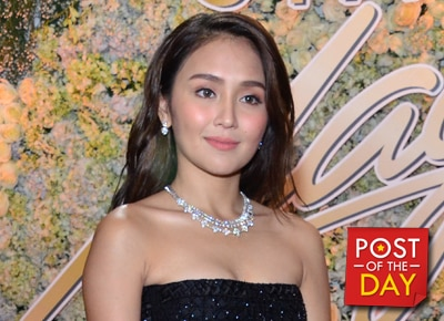 LOOK: Kathryn Bernardo's favorite photo from the Star Magic Ball 2016