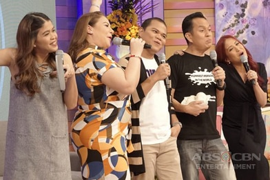 PHOTOS: Magandang Buhay with Pooh and Alex Calleja