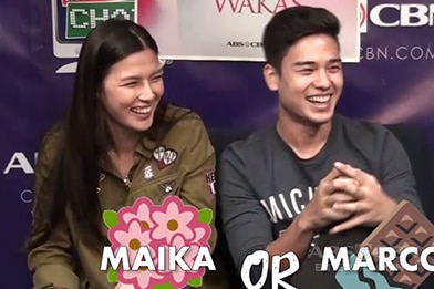 Fast Talk with Magpahanggang Wakas' Zach and Chesca