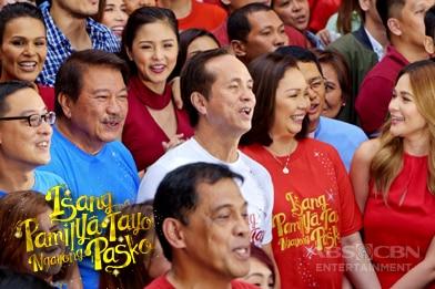 """ABS-CBN Christmas Station ID 2016 """"Isang Pamilya Tayo Ngayong Pasko"""""""