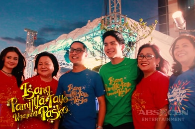Watch the highlights of Isang Pamilya Tayo Ngayong Pasko Christimas Kick Off