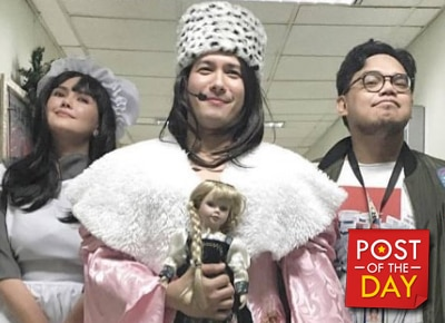 "LOOK: John Prats as ""Princess Sarah"""