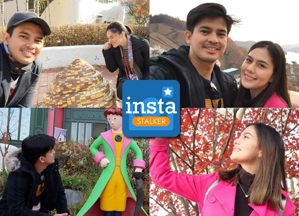 Jason Abalos tours Vickie Rushton in Korea
