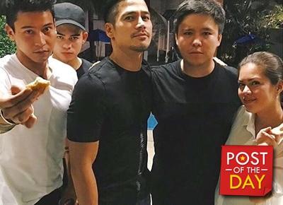 SPOTTED: Piolo Pascual at Shaina Magdayao's birthday