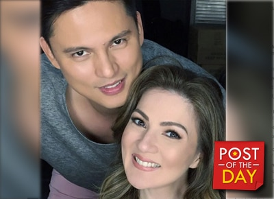 Carmina Villaroel and Zoren Legaspi celebrate 4th wedding anniversary