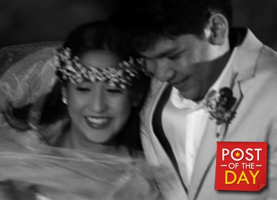 LOOK Jolina Magdangal's heartfelt message for Mark Escueta on their 5th anniversary